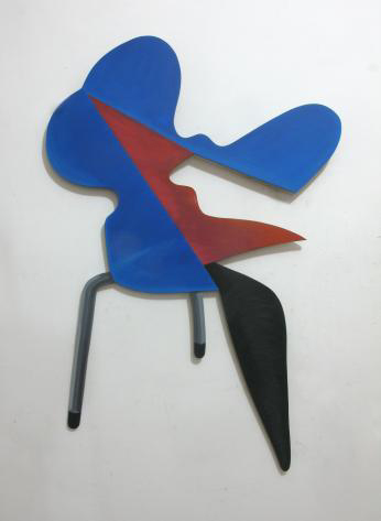Arne-Jacobsen-Ant-Chair-by-Furniture-Factory-2012-acrylic-on-mdf-board