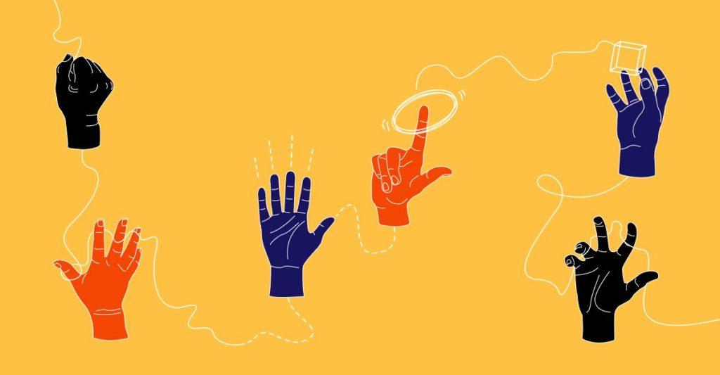 """2077Karolina Breguła, Diana Lelonek, Mateusz Szczypiński at """"Simple gestures"""", BWA Contemporary Art Gallery, Katowice"""