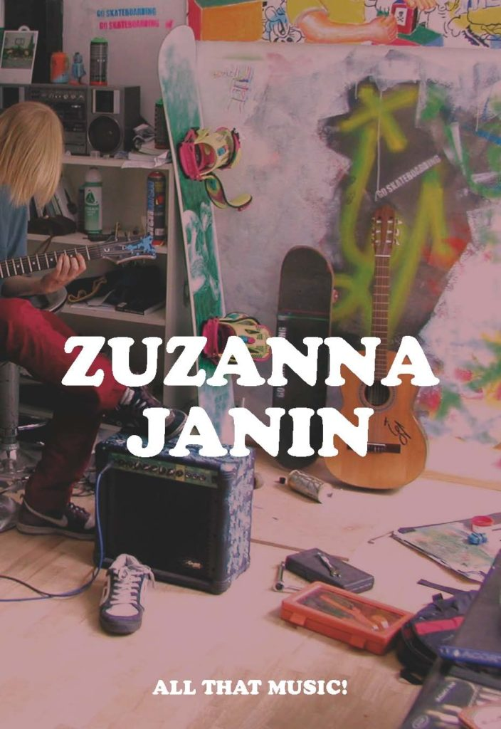 Zuzanna Janin. All that music!