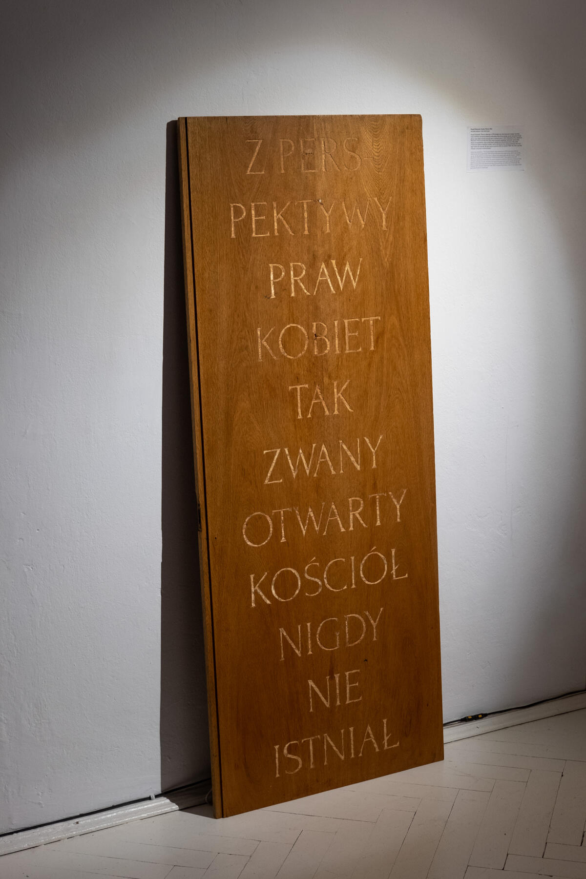 Paweł Żukowski, Deski / Planks, 2021
