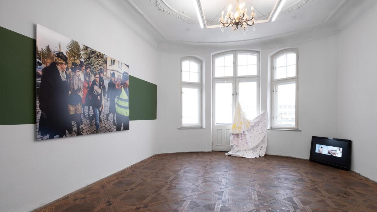 Widok na wystawę