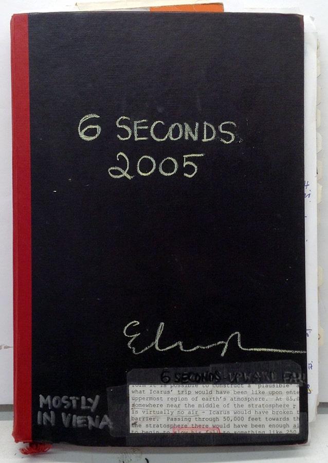Elka Krajewska, 6 sec bookcover, 2005