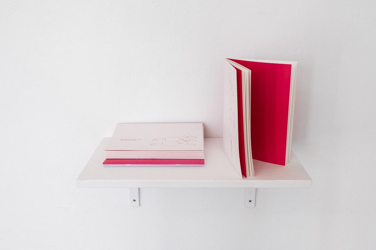 Liliana Zeic, Sourcebook, 2020, widok z wystawy Poganki, fot. Marcin Liminowicz