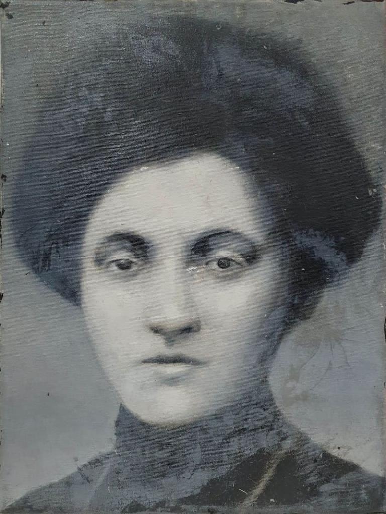 Aleksandra Szczerbińska, olej akryl na płótnie, 40x30cm, 2018-min