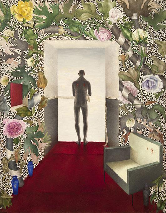 Bez tytułu, 1994-2004, płótno, olej, 91x72 cm, kolekcja prywatna