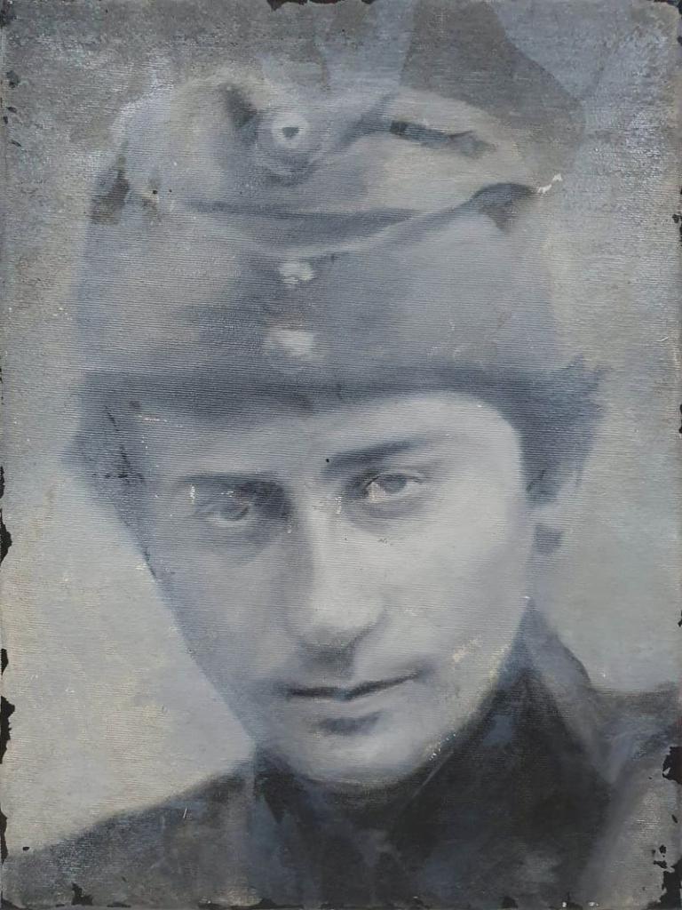 Zofia Zawiszanka, olej akryl na płótnie, 40x30cm, 2018-min