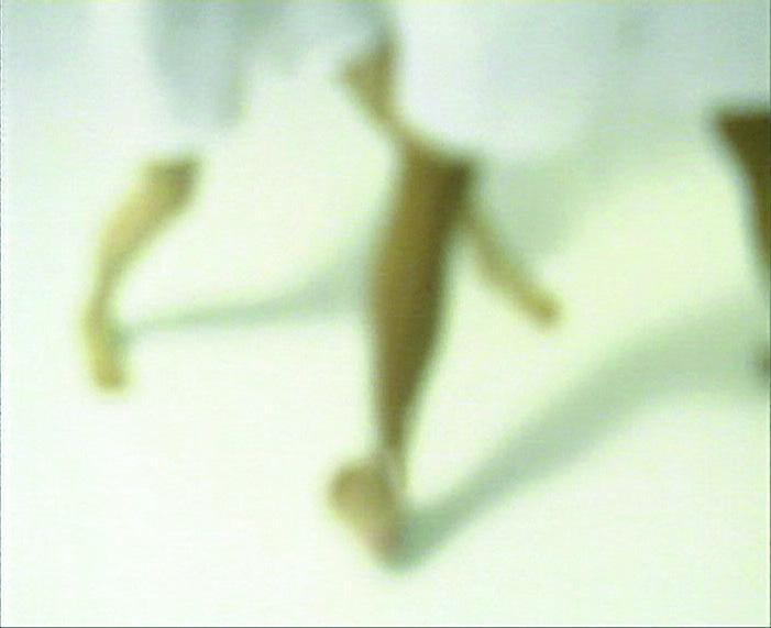 Zuzanna Janin, Pas de Deux, still from the video, 2001