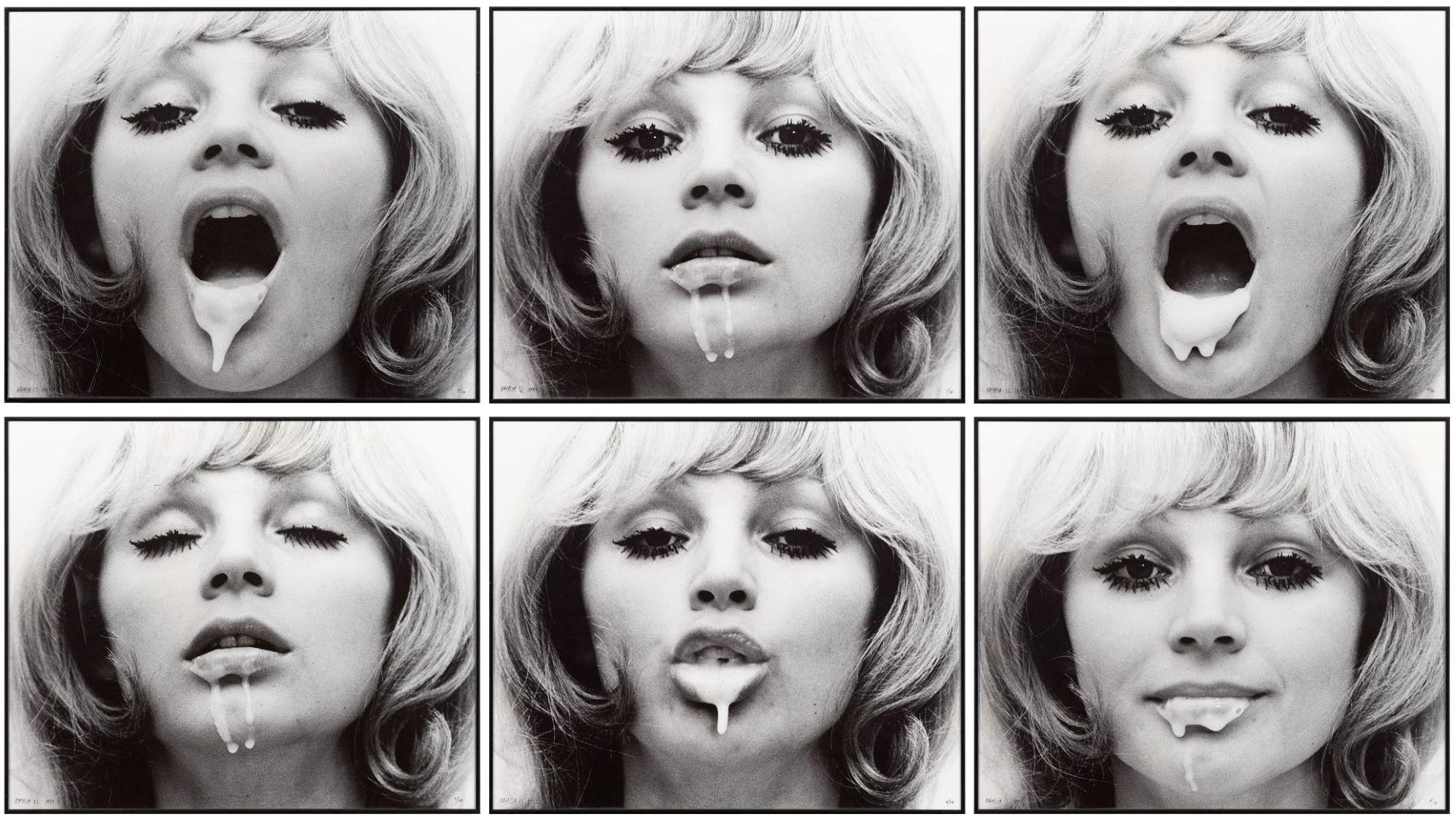 NATALIA LL, Sztuka postkonsupcyjna, 1975 fotografia czarno-biała, 50 x 60 cm